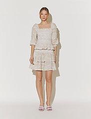 By Malina - Tilda skirt - korta kjolar - pastel paisley - 5