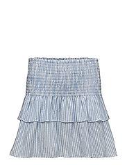 Kitty skirt - BLUE-WHITE STRIPED