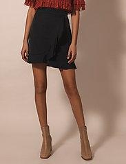 By Malina - Deena skirt - omlottkjolar - black - 0