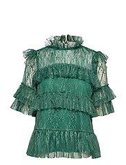 Rachel blouse - BASIL GREEN