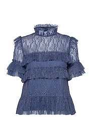 Rachel blouse - INDIGO BLUE