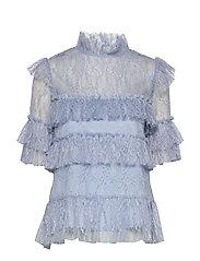 Rachel blouse - LAVENDER BLUE