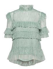 Rachel blouse - SERENE BLUE