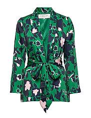 Day jacket - SHADOW GARDEN GREEN