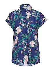 Paisley blouse - AZURE ROSE