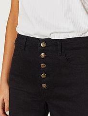 By Malina - Edith jeans - straight regular - black - 4