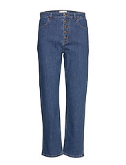 Edith jeans - WASHED BLUE