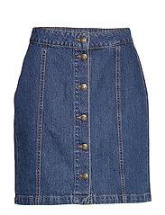 Celie skirt - WASHED BLUE