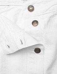 By Malina - Celie skirt - jeansowe spódnice - white - 2