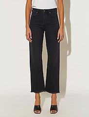 By Malina - Alexa jeans - straight jeans - black - 3