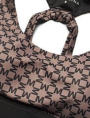 By Malina - Sports bra - sports bras - iconic print mud - 3