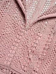 By Malina - Marilene blouse - långärmade blusar - rosé - 4