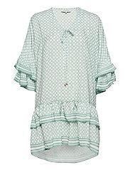 Kyla dress - ICONIC PRINT SAGE