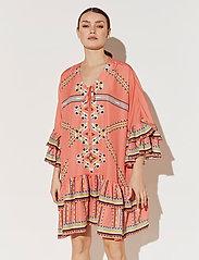 By Malina - Kyla dress - festklänningar - inca coral - 3