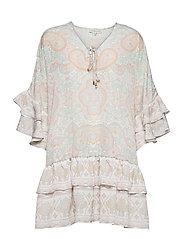 Kyla dress - PASTEL PAISLEY