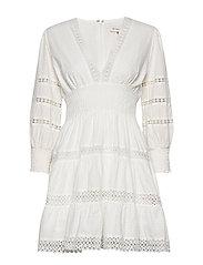 Inez dress - WHITE