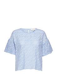 Callie blouse - SKY BLUE