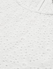 By Malina - Callie blouse - kortärmade blusar - white - 3