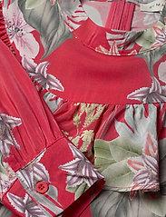 By Malina - Malva dress - midiklänningar - electric jungle pink coral - 2