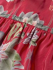 By Malina - Malva dress - midiklänningar - electric jungle pink coral - 3