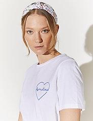 By Malina - Darling tee - t-shirts - white - 3