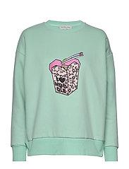 Noodle sweatshirt - AQUA