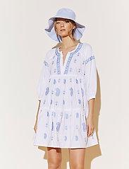 By Malina - Mimi dress - vardagsklänningar - sky blue - 0