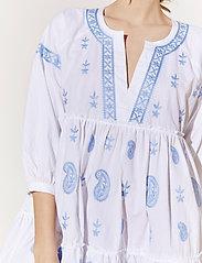 By Malina - Mimi dress - vardagsklänningar - sky blue - 4