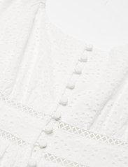 By Malina - Gloria dress - vardagsklänningar - white - 2