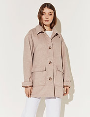 By Malina - Claire jacket - wool jackets - soft beige - 3