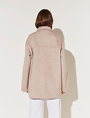 By Malina - Claire jacket - wool jackets - soft beige - 5