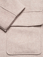 By Malina - Claire jacket - wool jackets - soft beige - 7