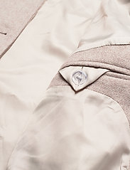 By Malina - Claire jacket - wool jackets - soft beige - 8