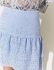 By Malina - Kacey skirt - korta kjolar - sky blue - 4
