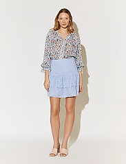 By Malina - Kacey skirt - korta kjolar - sky blue - 5