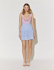 By Malina - Kacey skirt - korta kjolar - sky blue - 6