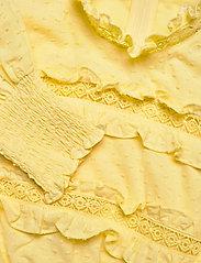By Malina - Emmie dress - sommarklänningar - lemon - 3