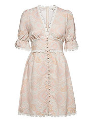 Leonie dress - PASTEL PAISLEY