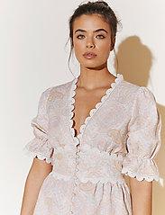 By Malina - Leonie dress - sommarklänningar - pastel paisley - 3