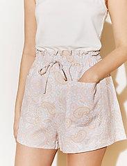 By Malina - Misty shorts - casual shorts - pastel paisley - 3