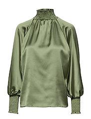 Liana blouse - HERB GREEN