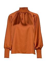 Liana blouse - SPICED HONEY