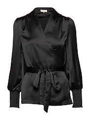 Milana blouse - BLACK