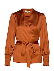 Milana blouse - SPICED HONEY