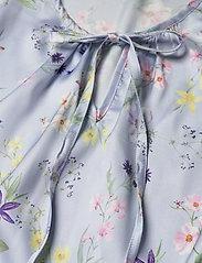 By Malina - Estrid blouse - långärmade blusar - midsummer blue - 2