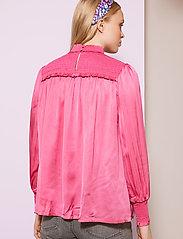 By Malina - Shirley blouse - långärmade blusar - ballet pink - 3