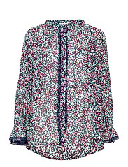Ivey blouse - WILD BLOSSOM
