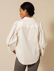 By Malina - Edwina shirt - chemises à manches longues - white - 4
