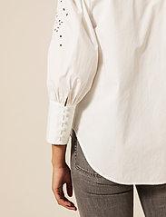 By Malina - Edwina shirt - chemises à manches longues - white - 5
