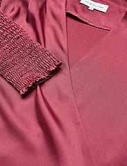 By Malina - Hope blouse - långärmade blusar - dusty raspberry - 8